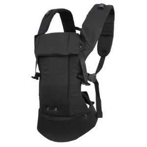 Beco baby carrier, black, for babies 7-35 lb